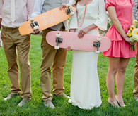 wedding skateboards