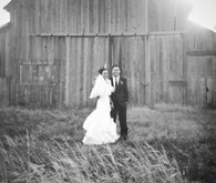 Waterfront Ranch Wedding Portrait