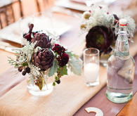 Waterfront Ranch Wedding Table Number