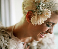 Roaring 1920's Wedding Headpiece