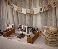 Roaring 1920's Wedding Guestbook