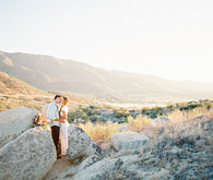 Southwestern Wedding Portrait