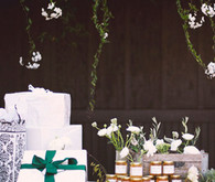 Napa Valley Wedding Gift Table