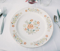 ranch wedding place setting