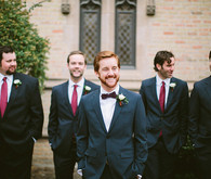 Vintage Austin Wedding Groomsmen