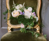 Vintage Austin Wedding Bridal Bouquet