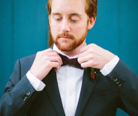 Vintage Austin Wedding Groom