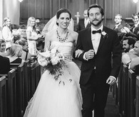 Vintage Austin Wedding Ceremony