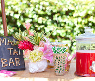 tiki bridal shower drinks