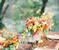 Rustic Fall tablescape