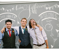 Vintage Mexican Fiesta Inspired Wedding Groomsmen