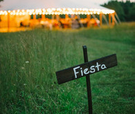 Vintage Mexican Fiesta Inspired Wedding Signage