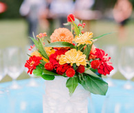 Vintage Mexican Fiesta Inspired Wedding Flowers