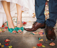 Vintage Mexican Fiesta Inspired Wedding Shoes
