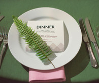 Wes Anderson Inspired Place Setting