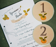 Napa Valley Wedding Invitation