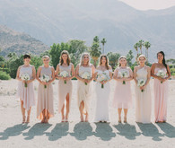 Whimsical Palm Springs Bridesmaid