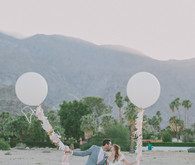 Whimsical Palm Springs Wedding Portraits