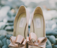 Whimsical Palm Springs Wedding Shoes