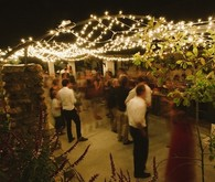 South African wedding reception