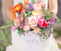 Spring Wedding Bridal Bouquets