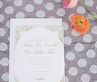 Vibrant Spring Wedding Invitation