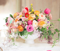 Vibrant Spring Wedding Florals