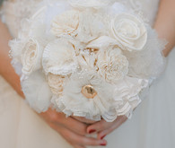 Vintage Glam Wedding Bouquets