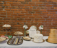 Vintage Glam Seattle Wedding Dessert Table
