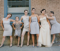 Vintage Glam Bridesmaids