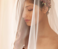chic wedding veil