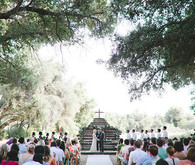 Vintage Woodland California Wedding Ceremony
