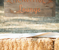 Vintage Woodland California Wedding Signage