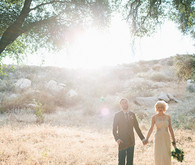 Vintage Woodland California Wedding Portraits