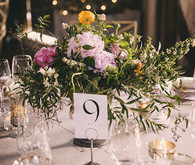 Vintage Wedding Table Number