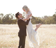 Whimsical Australian Wedding Portrait