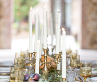 tuscan wedding candles