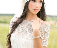 tuscan themed bridal accessories