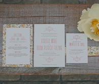 Southern Style California Wedding Invitations