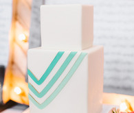Whimsical Smog Shoppe Wedding Cake