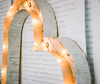 Whimsical Smog Shoppe Wedding Decor
