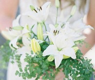 green wedding bouquet