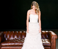 Wedding dress and shoe