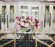 Art deco tablescape
