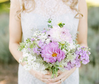 Lavender and purple bouquet