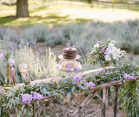 Lavender farm inspiration dessert table