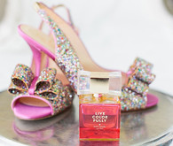 Shoes and perfume