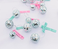 Disco Ball wedding favors