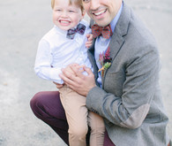Groom with ring bearer