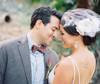 Southern California ranch wedding portrait